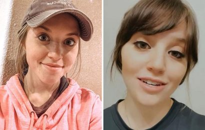 Joy-Anna Duggar slammed for 'looking plastic' in eyelashes ad as fans say 'her makeup application needs serious help'