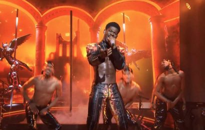 Lil Nas X Endures Wardrobe Malfunction During 'Montero' on 'SNL'
