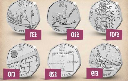 Rare and valuable 50p coins in circulation including Kew Gardens worth £707