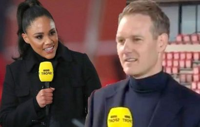 'Take care of it' Dan Walker responds to Alex Scott as she's announced as his replacement