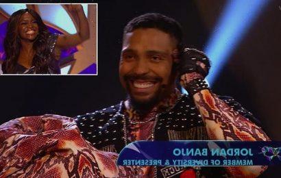 The Masked Dancer: Jordan Banjo is REVEALED as Viper