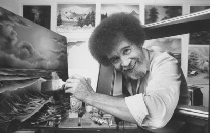 Where Can You View Bob Ross' Beloved Paintings?