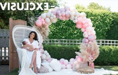 Casey Batchelor introduces baby Daisy as she reveals plans for baby number four
