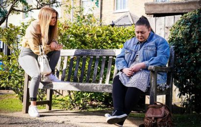 EastEnders spoilers: Bernie Taylor begs for stronger diet pills as Rainie makes a decision on the surrogacy