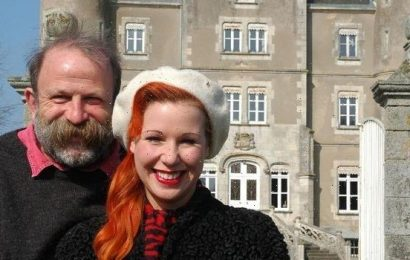 Escape To The Chateau's Dick Strawbridge reveals horror at 'neglected' ruin he and wife Angel Adoree bought