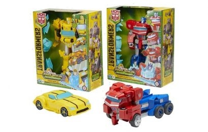 """Hasbro's New Transformers Figures Will """"Roll N' Change"""" By Themselves"""