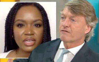 'It's not just to protect you' Richard Madeley skewers young GMB guest refusing vaccine
