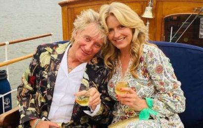 Loose Women's Penny Lancaster and Rod Stewart celebrate 14th wedding anniversary