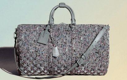 "Louis Vuitton Showcases Circular Design Through ""Felt Line"""