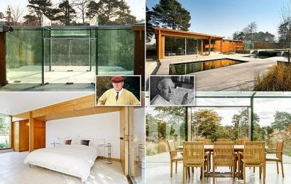 Mansion designed by 'the REAL Goldfinger' hits the market for $4.2M