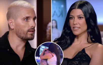 Scott Disick admits he 'wants to kill' ex Kourtney Kardashian's boyfriends as she gets hot & heavy with Travis Barker