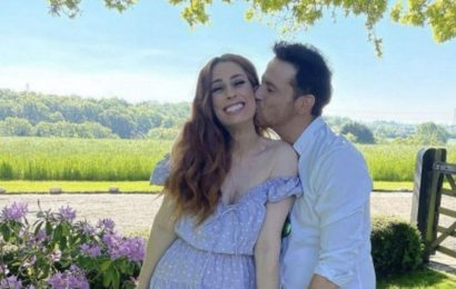 Stacey Solomon's pregnancy hints revealed in resurfaced wedding dress comments