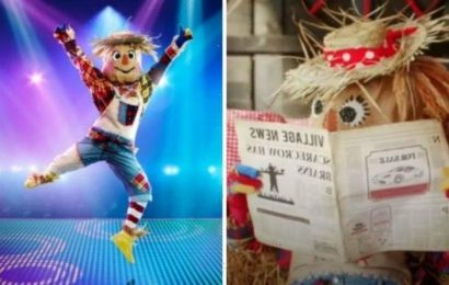 The Masked Dancer: Scarecrow to be unveiled as Olympian after newspaper clue?