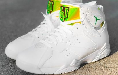 This University of Oregon Air Jordan 7 PE Is Limited to 120 Pairs
