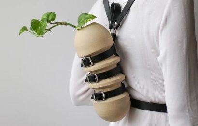 ZHENI Studio Creates the First Wearable Vase