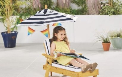 Aldi launches children's garden range including sun lounger and picnic bench