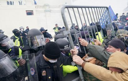 Capitol Police Furious Security Fence Getting Replaced by Bike Racks