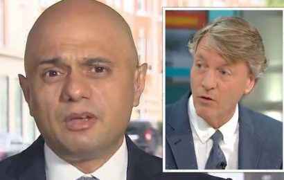 Isn't that embarrassing Javid grilled as Richard Madeley exposes 'confusing' advice