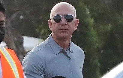 Jeff Bezos Treats GF Lauren Sanchez To Dinner In Malibu Ahead Of Space Flight  Photos