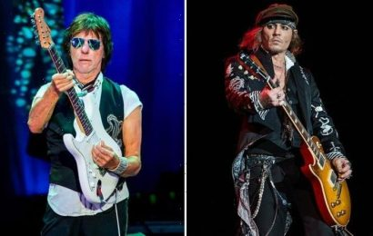 Johnny Depp 'recording new music with Jeff Beck as a comeback' – 'Hopes for movies return'