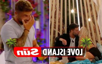 Love Island fans disgusted as they spot Jake 'celebrating after securing the prize money' as Liam FINALLY snogs Lillie