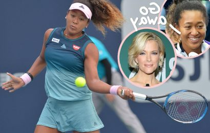 Naomi Osaka Claps Back HARD After Megyn Kelly Criticizes Her Sports Illustrated Swimsuit Cover!