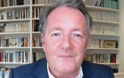 Piers Morgan flaunts huge garden and lavish pool as he shares perfect day