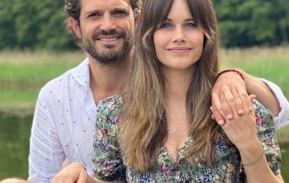 Princess Sofia shows off her new mom-bangs and her three growing sons
