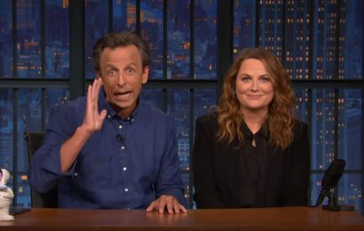 Seth Meyers and Amy Poehler Roast Space Billionaires in a New 'Really!?!' (Video)