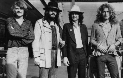 The Led Zeppelin Classic Bobby Brown Repurposed for the Hit 'Humpin' Around' Single