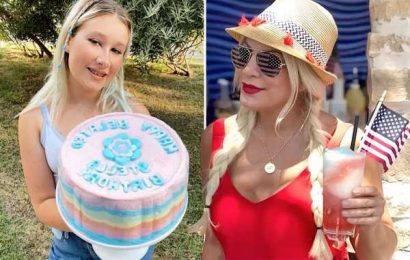Tori Spelling celebrates Fourth of July & daughter Stella's birthday without husband Dean McDermott amid divorce rumors