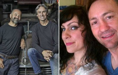 American Pickers' Danielle Colby films with Mike Wolfe's brother Robbie after Frank Fritz accuses star of replacing him