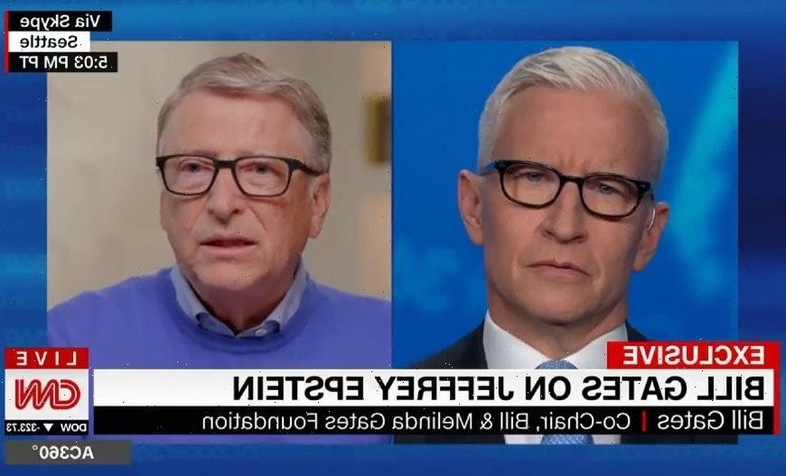 Bill Gates Says Dinners with Jeffrey Epstein Were 'a Huge Mistake' (Video)