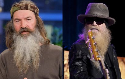 'Duck Dynasty' star Phil Robertson recalls speaking at Dusty Hill's funeral