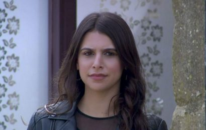 Emmerdales Paige Sandhu teases a dramatic end for Theo due to Meenas mailce