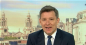 GMBs Ben Shephard left flustered as Olympic gold medalist swoons over him