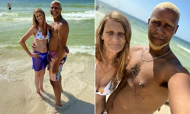 Grandma and her toyboy lover  engaged – despite a 37 YEAR age gap