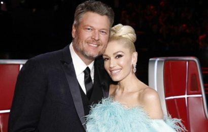 Gwen Stefani Photoshops Adorable Throwback Pic With Blake Shelton