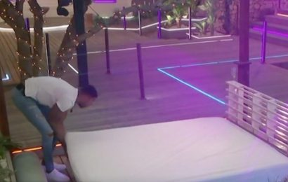 Love Island fans gush as Tyler makes up day bed for Kaz and Liberty after Jake split