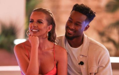 Love Islands Faye and Teddy share plans to move in together as they leave villa