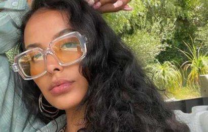 Maya Jama sends fans wild as she flaunts hourglass curves in scorching selfie