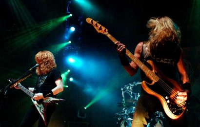Megadeth Name Touring Replacement for David Ellefson