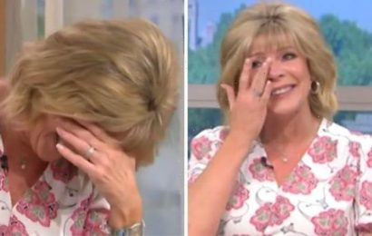 Ruth Langsford left in tears as Eamonn derails This Morning with private joke