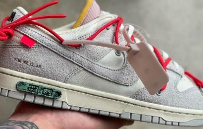 """This Is Pair #33 From Off-White™andNike'sDunk Low """"The 50"""" Collection"""