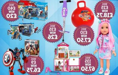 Argos' toy sale is now live – with up to half price off top brands Barbie and Playmobil