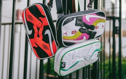 Ceeze Is Now Making Bags Out of Leftover Sneaker Pieces