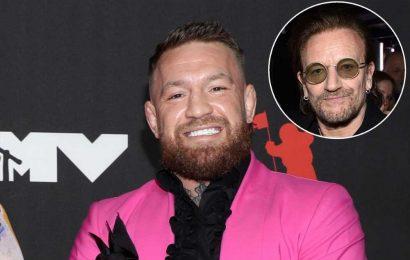 Conor McGregor fans out over fellow Irish icon Bono