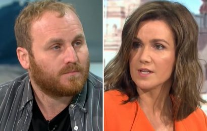 Furious Susanna Reid berates eco-warrior over M25 protest that sparked FIVE HOUR delays