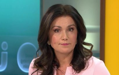 GMB star Susanna Reid has 'incurable' illness that she has suffered with for 16 years