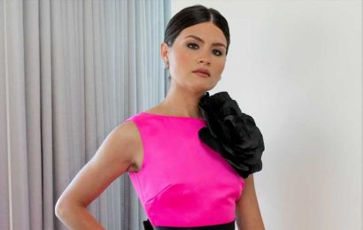 Hamilton's Phillipa Soo Had the Sweetest Emmys Date Night in an '80s-Inspired Look